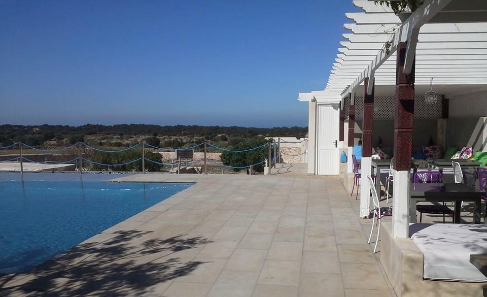 pergola piscine Essaouira
